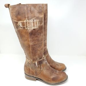 Corral Women's Cognac Harness Tall Riding boots